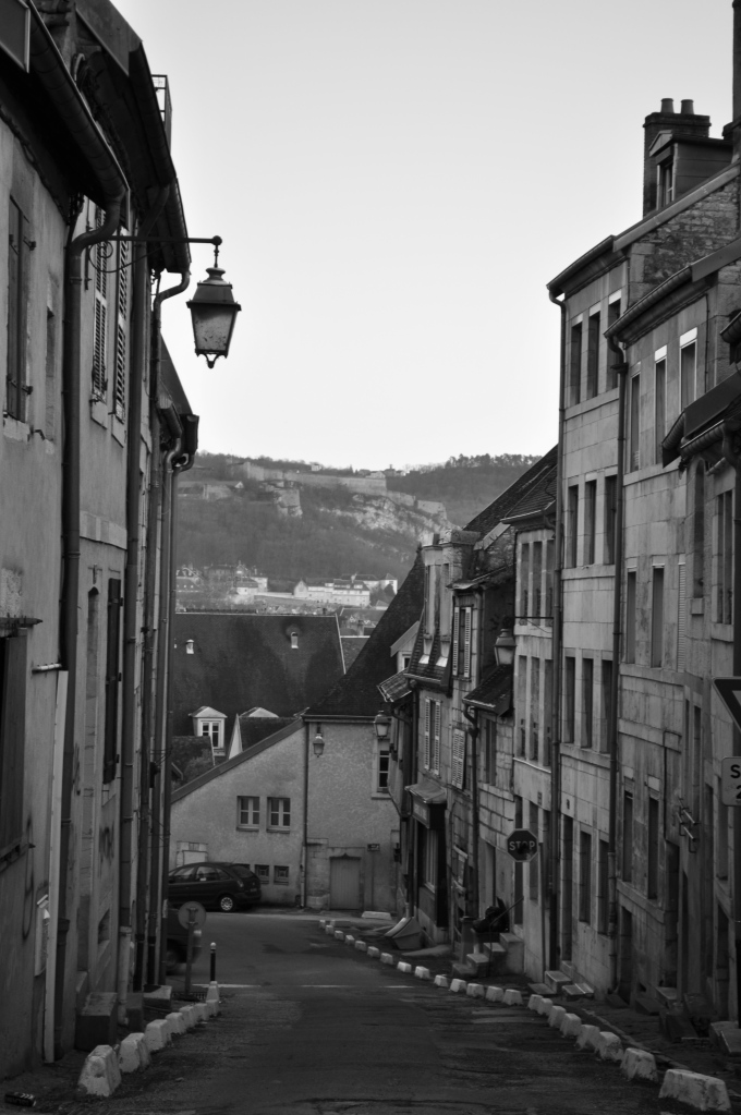 Blanc et Noir in Besancon, France by Madelyn Vargas