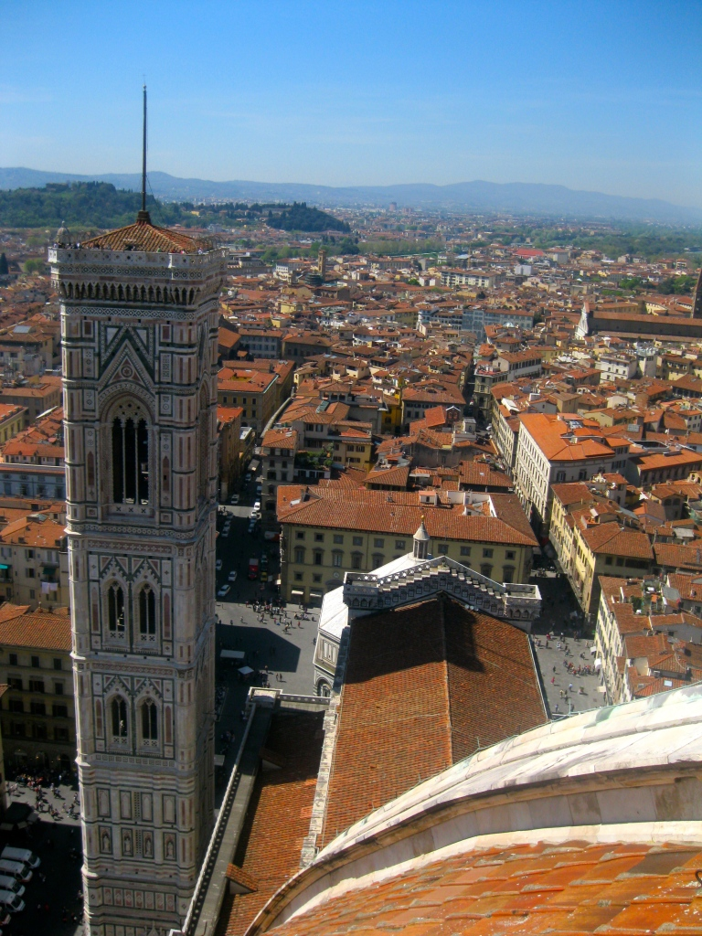 A View of Florence Atop the Duomo in Florence, Italy by Kayla Ernst