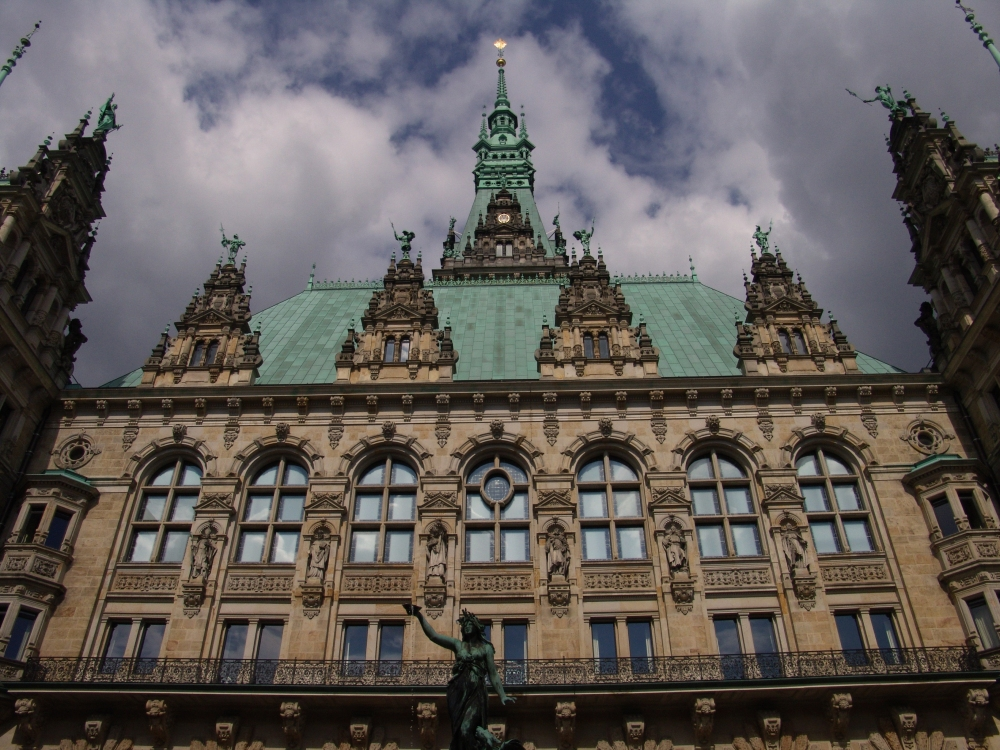 Hamburg Rathaus (City Hall), Hamburg, Germany by Brent Brock