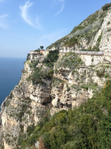 Driving to Positano, Italy by Hayley Weston