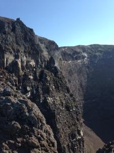 On top of Mount Vesuvius by Hayley Weston