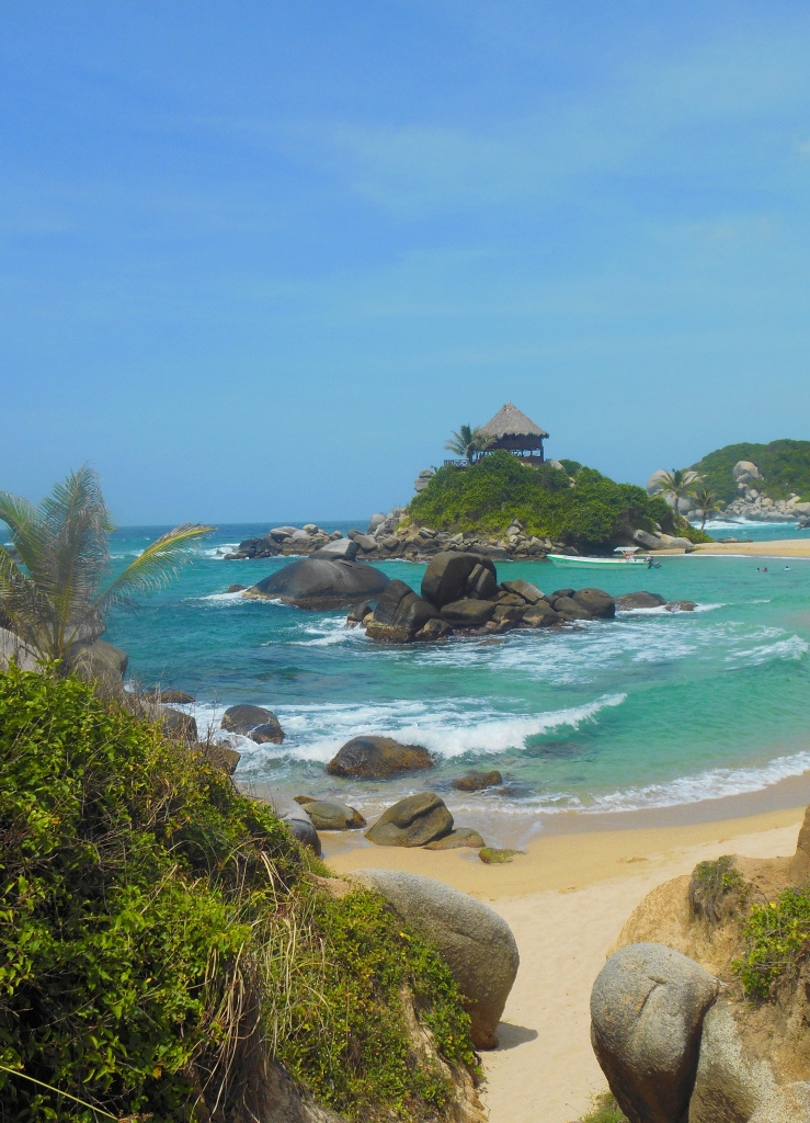 """""""Clear Water"""" in Cabo San Juan de Guia in Tayrona National Park, Colombia by Leigh Bush"""