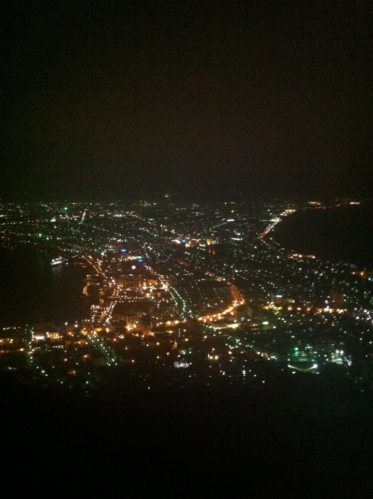 Night view Hakodate, Japan by Cameron Carson