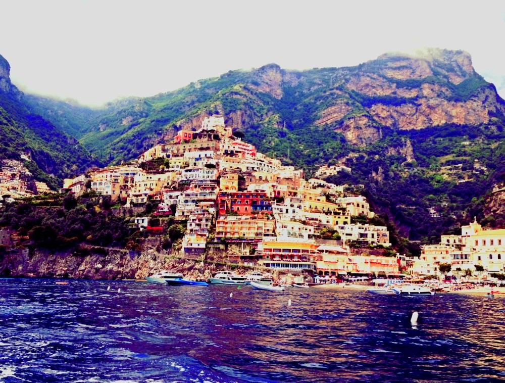 Positano, Italy by Angela Embury