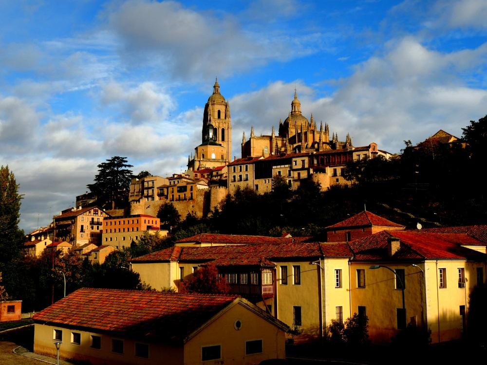 Alcazar's Castle on the Hill in Segovia, Spain by Jordan Hefty