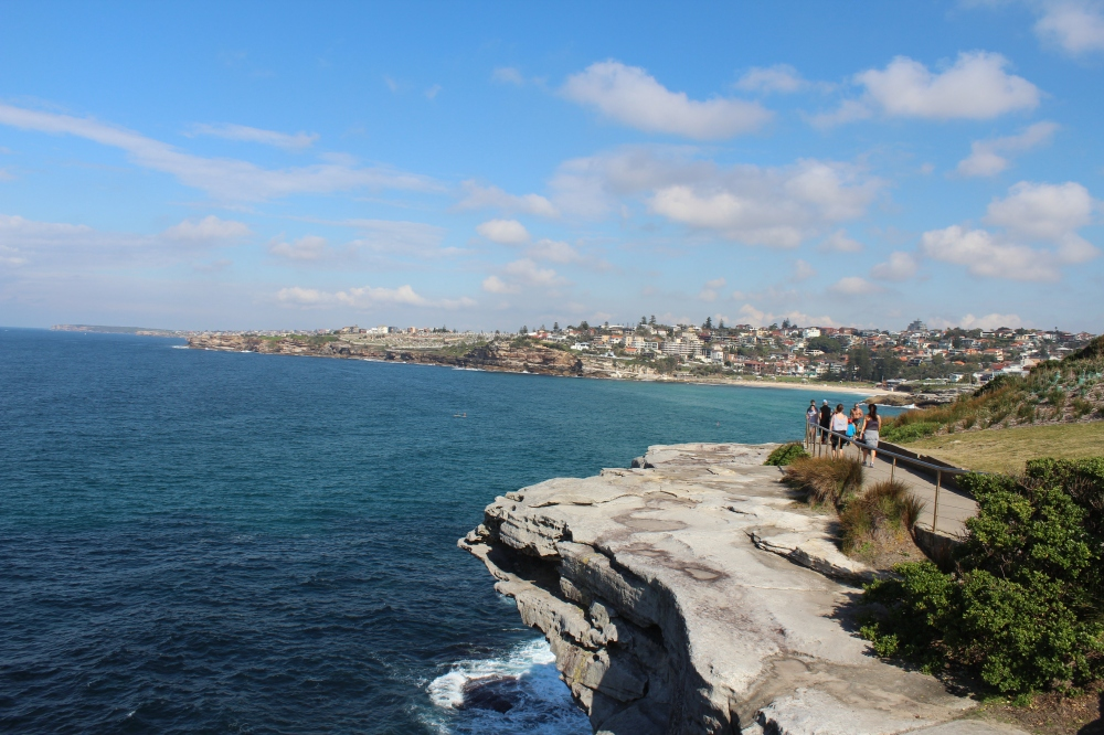 Bondi beach in Sydney Australia by Brittani Redder