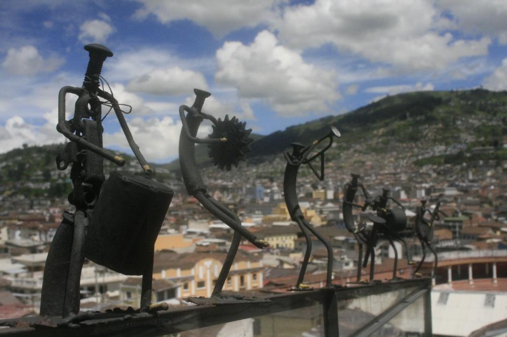 Energia de la Montana in Quito, Ecuador by Dean Simionescu