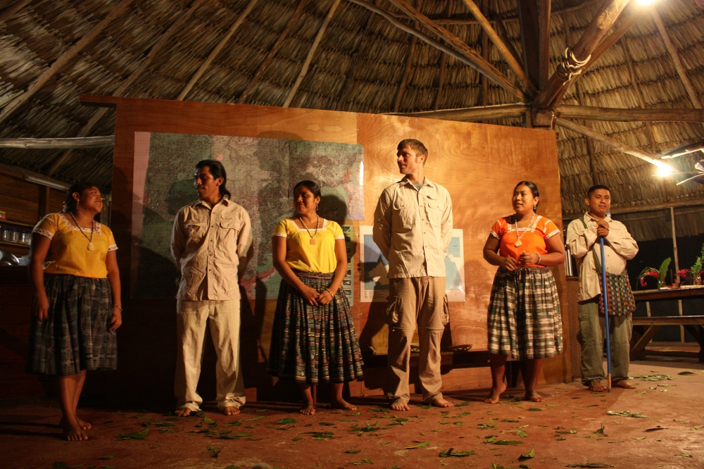 Traditional Mayan Dance in Bfree, Belize by Tim Wilkins