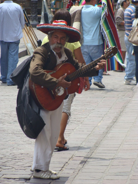 The Guitarist by Guanajuato, Mexico by Jonathan Montalvo