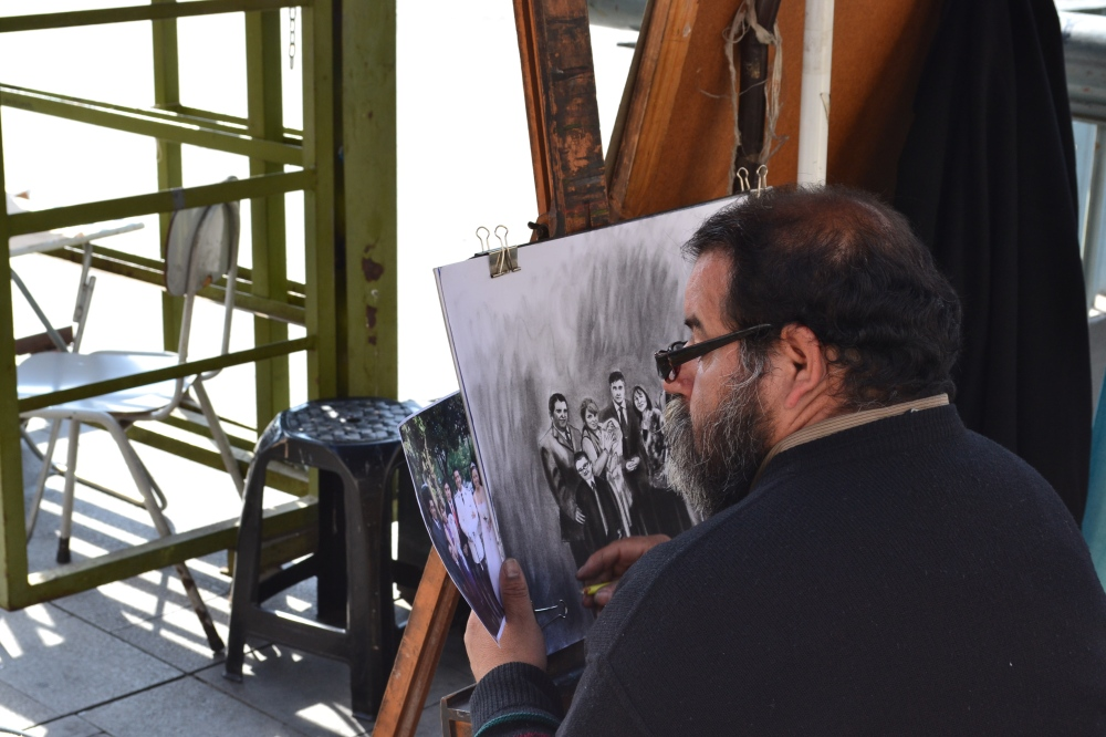 Artisan in Chile by Nick Schrader