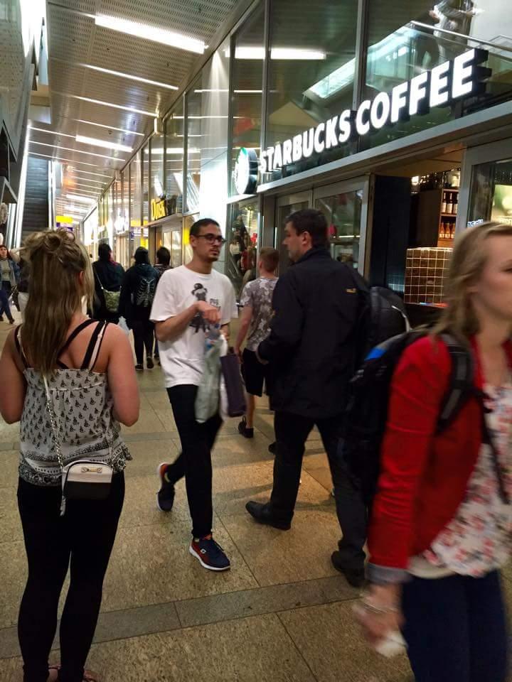 German Starbucks