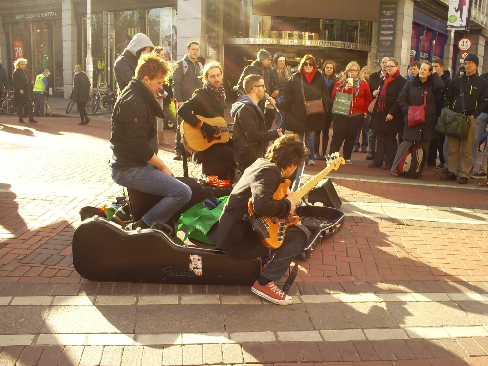 Band in Tenerife, Canary Islands in Spain by Amy Millard