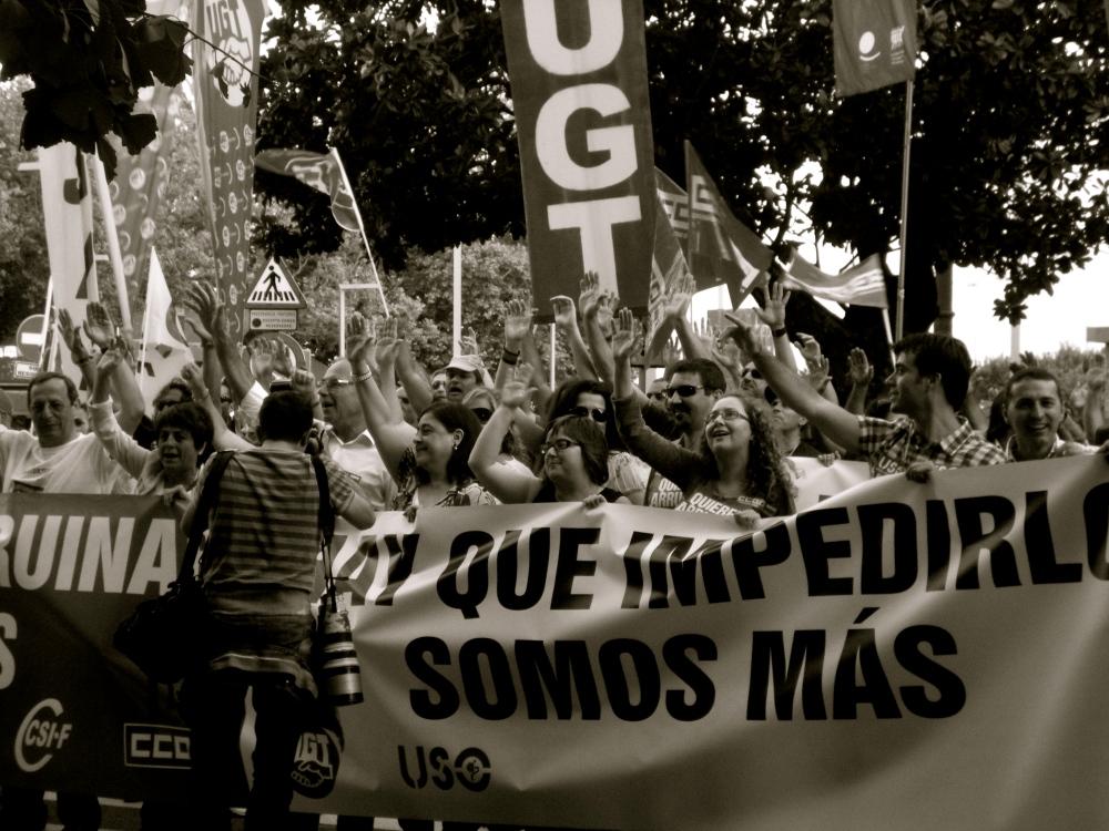 A People's Voice in Santander, Spain by Jillian Newton