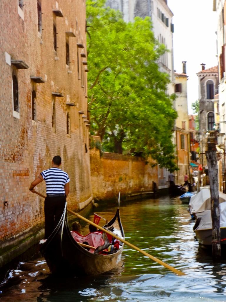 Gondola Ride in Venice, Italy by Nick Arnold