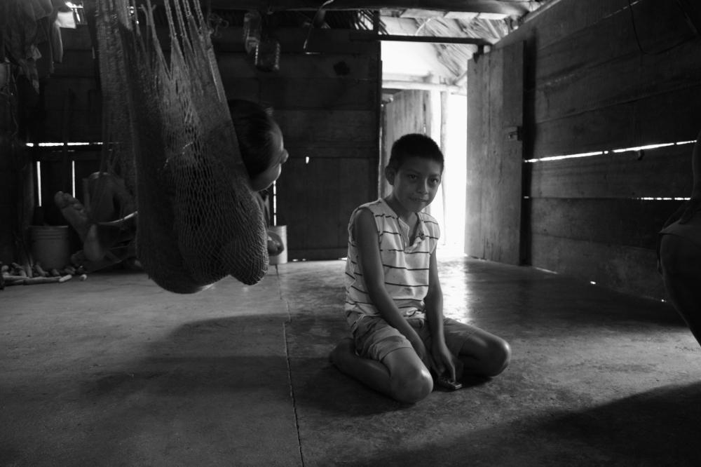 Melvin in San Felipe, Belize by Tim Wilkins