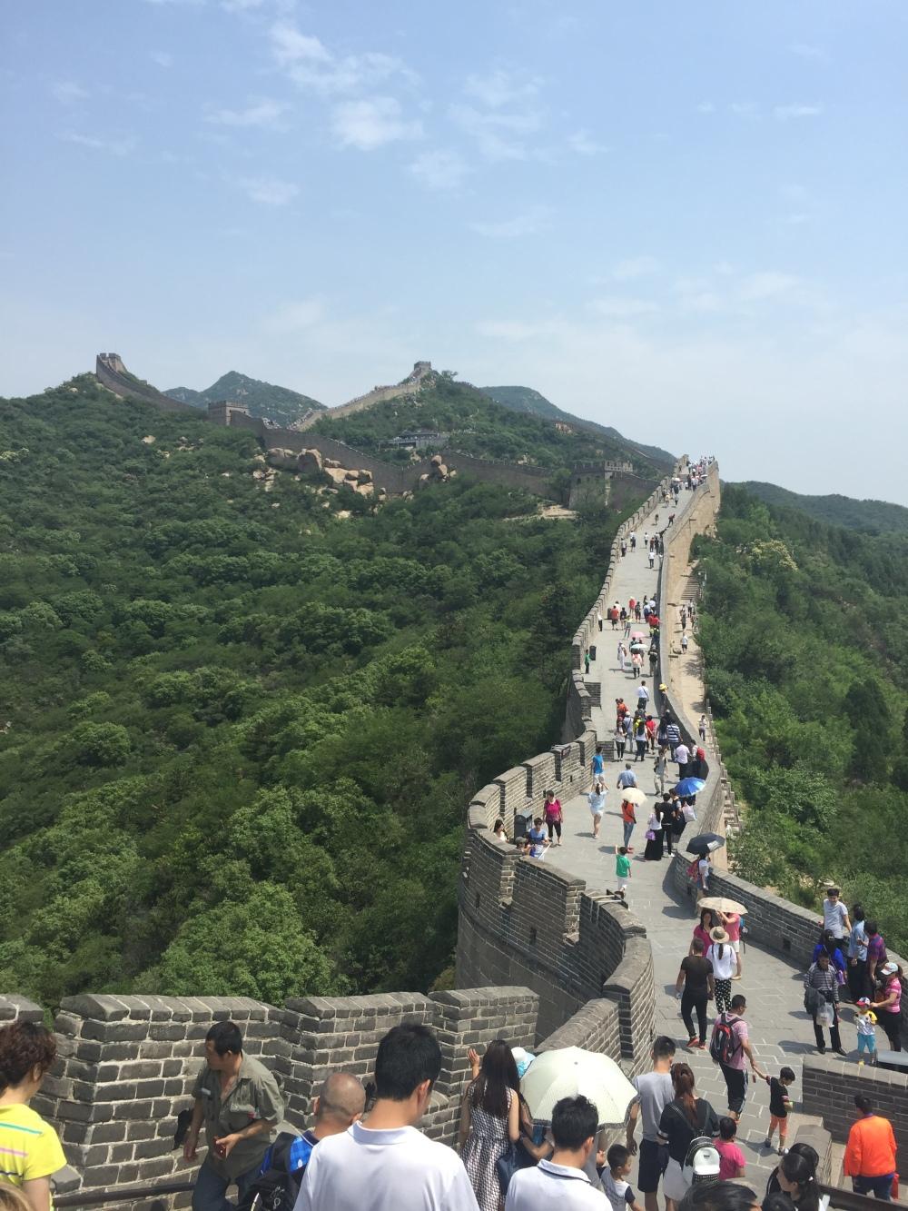 Great Wall of China Photo Credit: Angela Yarrell