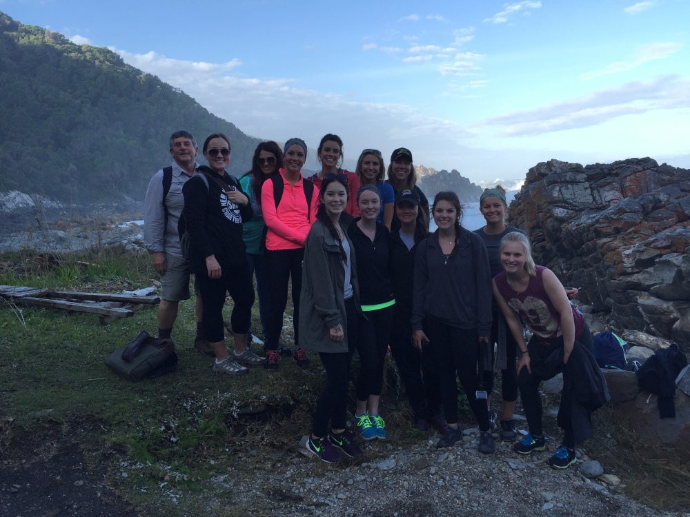 All of the group enjoying a hike! Photo Credit: Carly Farrell