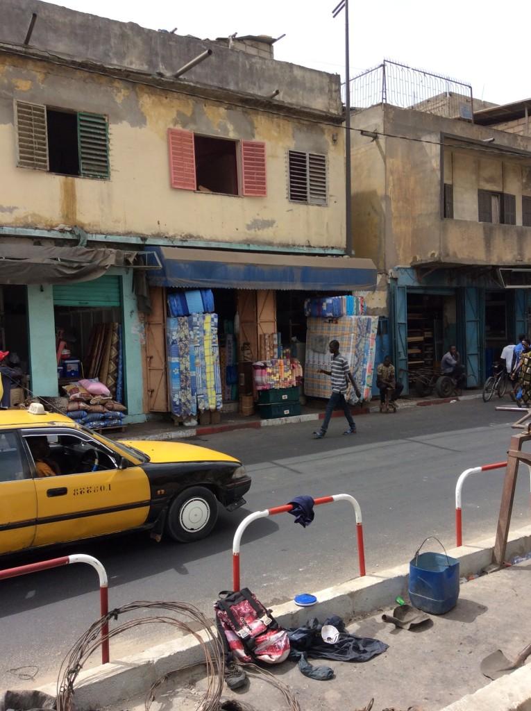 Yeumbeul, a suburb of Dakar and the location of the Angela Davis school