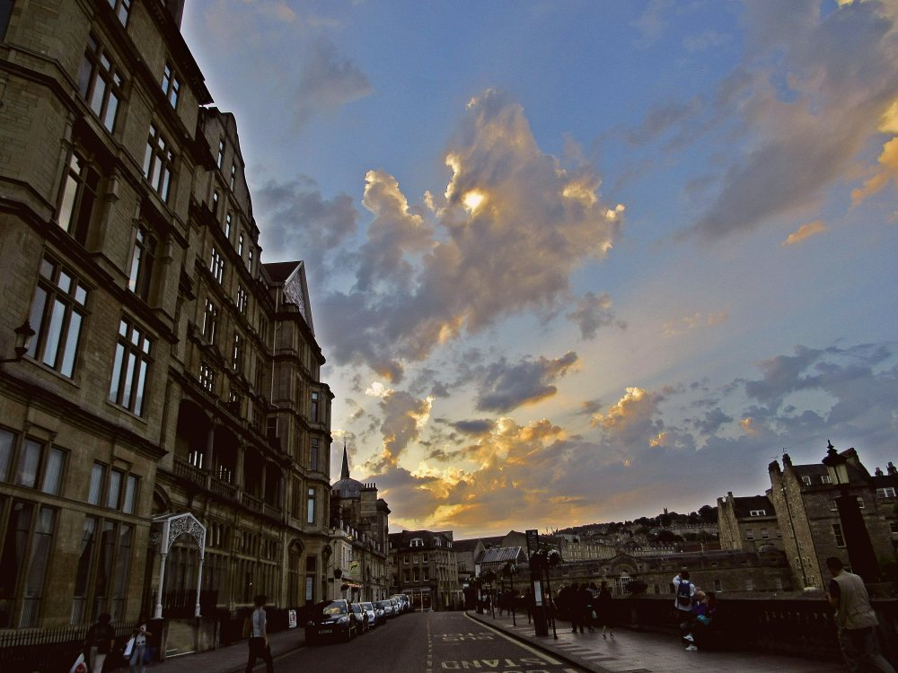 Downtown Bath, Media Ethics in London, Photo Contest 2015, by Jessica Jarret.