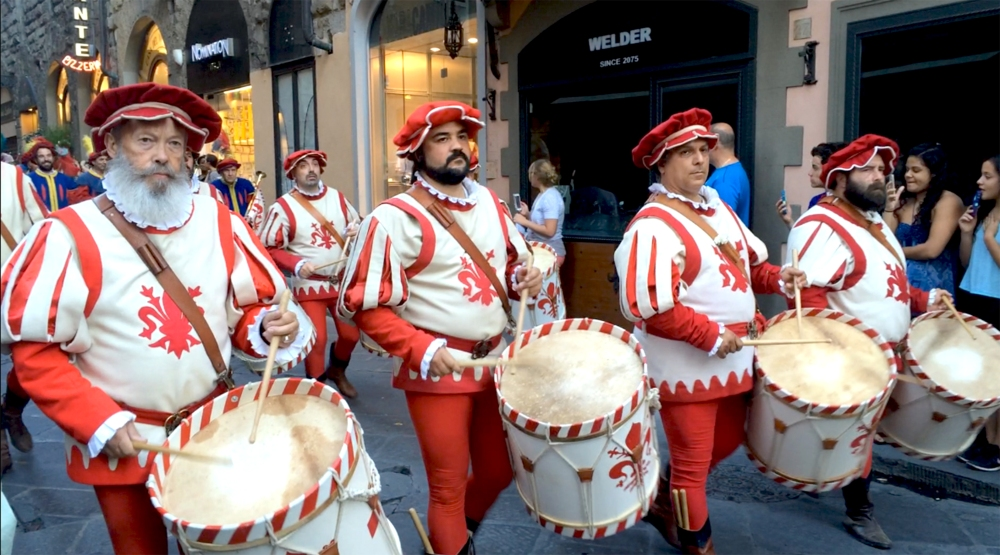 San Giovanni Festival (St. John) in Florence by Rachel Stickney. Program: The Italian Journey.