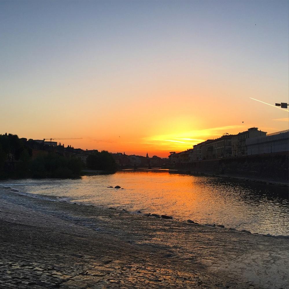 Italian sunset.