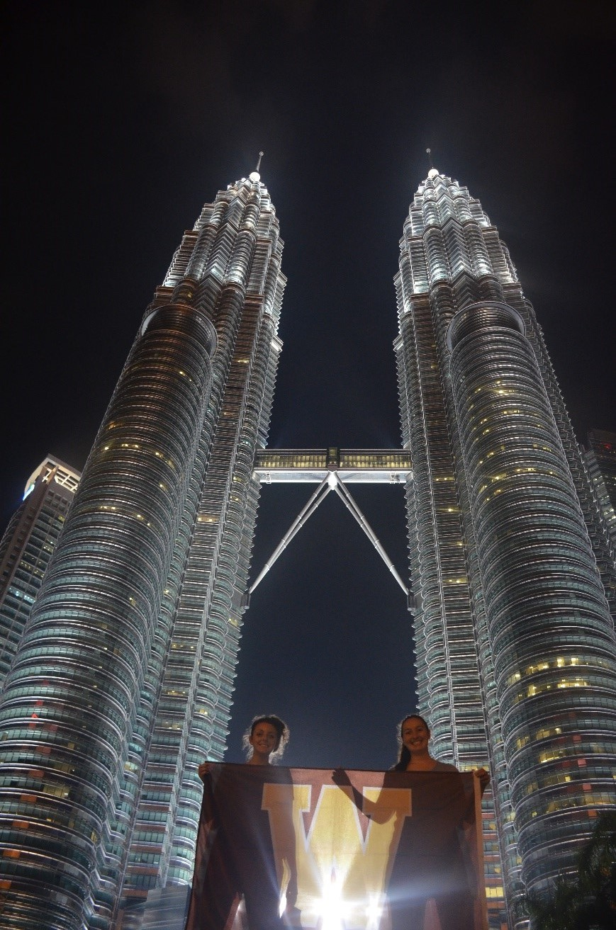 Taking a trip to the Petronas Towers Photo Credit: Bri McCann