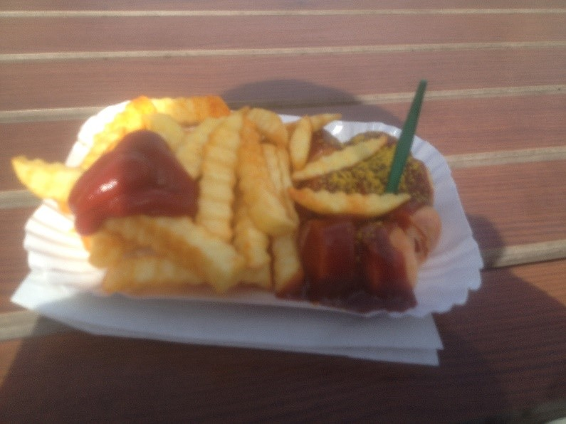 Currywurst Photo Credit: Daniel Lopez, 2016