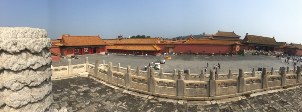 Forbidden City, also known as Palace Museum Photo Credit: Paulina Yu, 2016