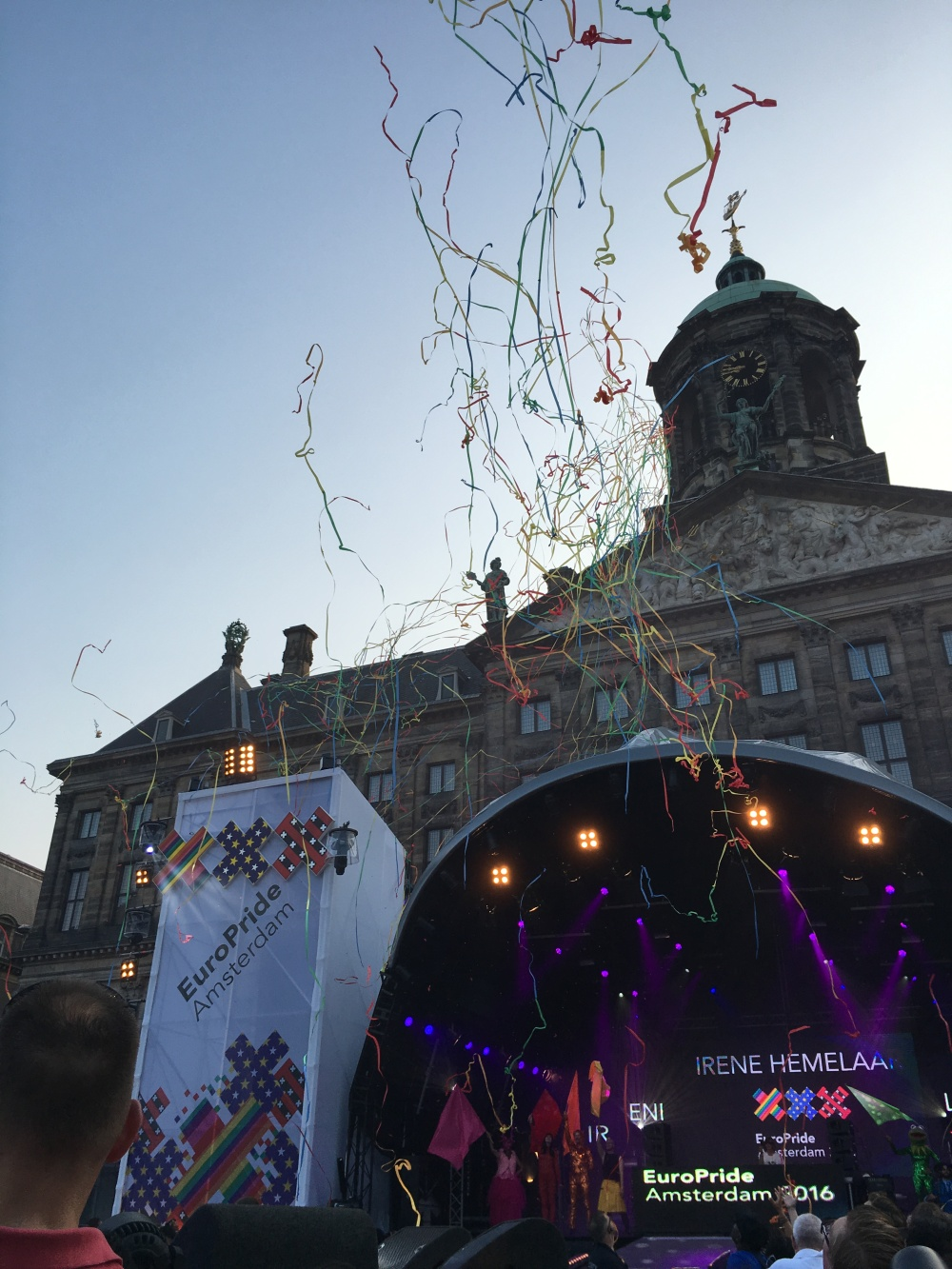 I attended an outdoor EuroPride concert, celebrating freedom of marriage in Europe and hearing the stories of the LGBT+ community in this part of the world. Photo Credit: Nicole Thompson