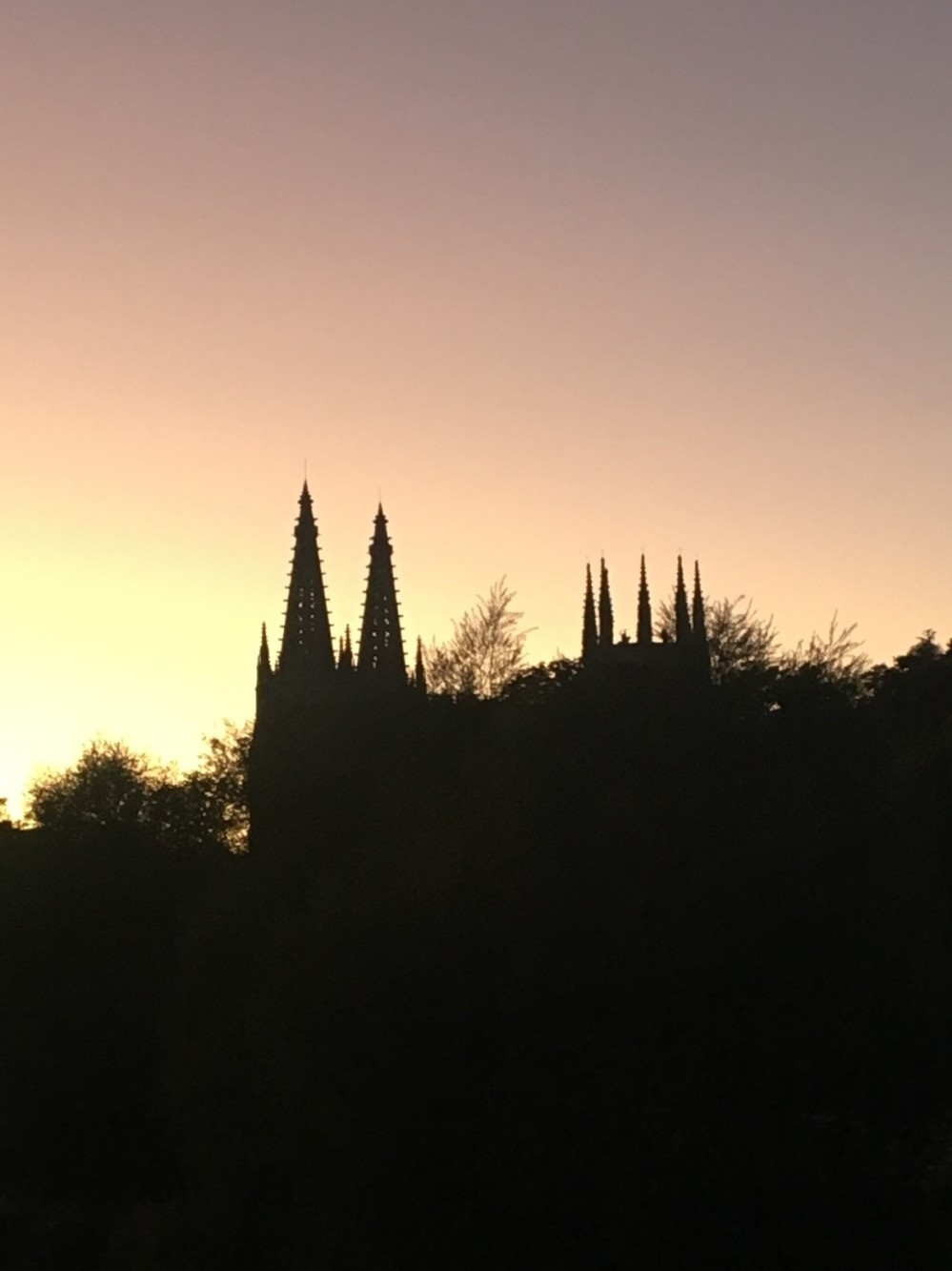 Cathedral de Santamaria silhouette-Mark Majcher, Burgos 174