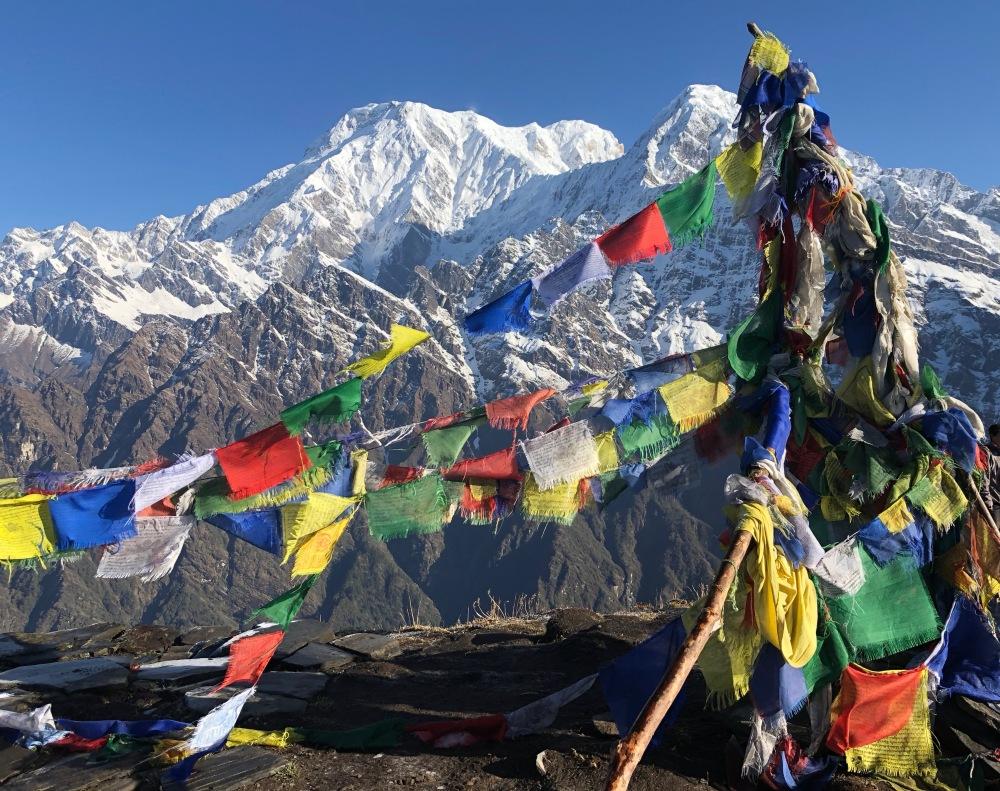 Views from the Annapurna Range